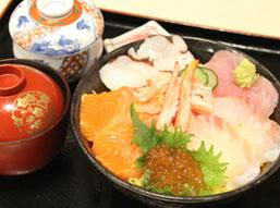 海鮮丼(茶碗蒸し付き)